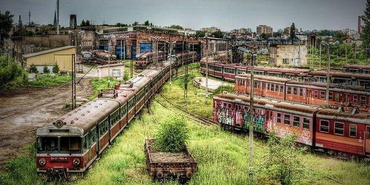 5 Unbelievable Areas Few People Ever Visit Poland Train Depot