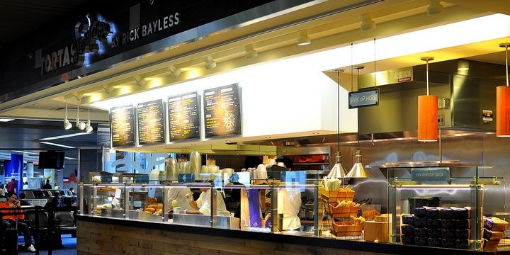 6 Most Prominent Airport Restaurants USA Chicago O Hare International Airport