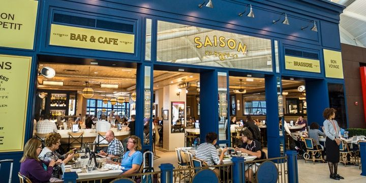 6 Most Prominent Airport Restaurants USA Newark-Liberty International Airport